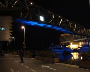puente peatonal forum barcelona